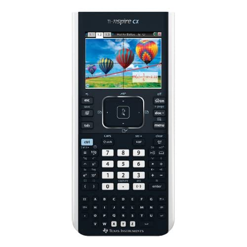 Texas Instruments Ti-Nspire Cx Graphing Calculator N3/TBL/2L1