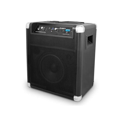 Ion Block Rocker Bluetooth Portable Speaker System With Auxiliary USB Charger Wi
