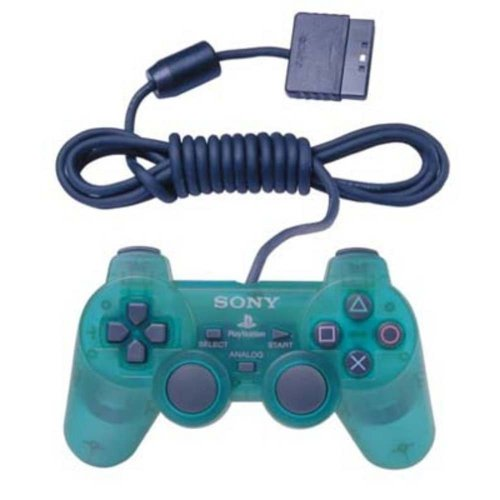 Image 0 of PS2 Dualshock 2 Controller Emerald For PlayStation 2 Green 97062