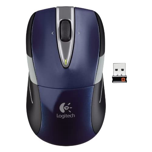 Image 0 of Logitech Wireless Mouse M525 Navy/grey With Unifying Receiver