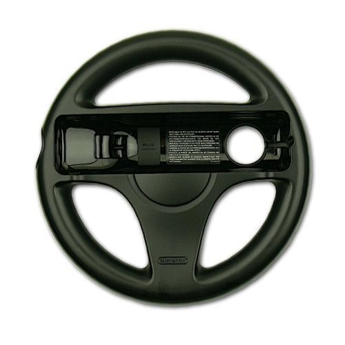 Image 0 of Official Wheel Black For Wii Or Wii U Racing Mini Mini