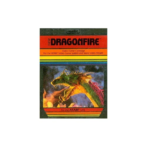 Dragonfire 2600 For Atari Vintage