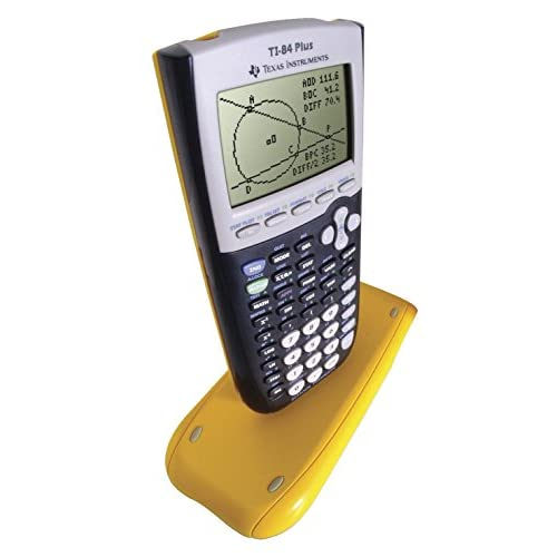 Texas Instruments Ti 84 Graphing Calculator Kit Yellow Pack Of 10