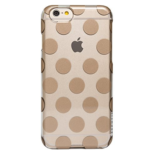 AGENT18 iPhone 6 / iPhone 6S Case Slimshield Clear / Gold Dots Cover