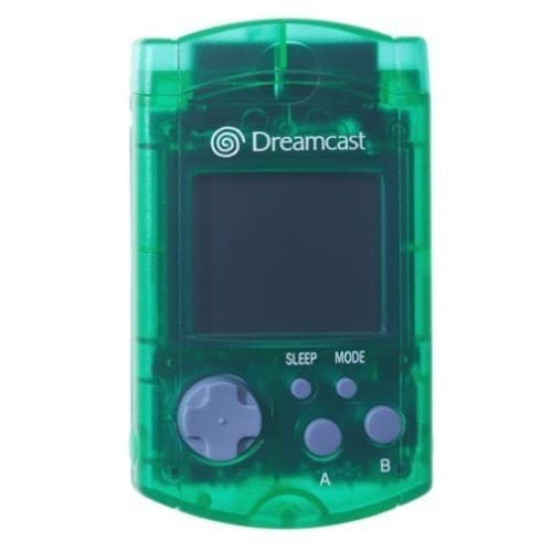 Green Visual Memory Unit VMU For Sega Dreamcast Card Expansion WCI375