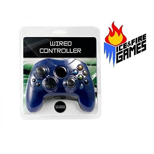 Image 0 of Wired Controller For The Original Microsoft Xbox Blue