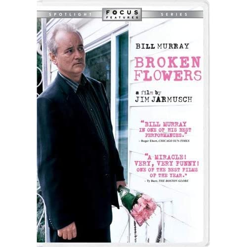 Image 0 of Broken Flowers On DVD With Bill Murray Comedy