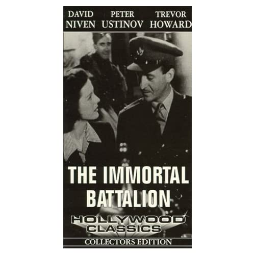 Image 0 of Hollywood Classics Collectors Edition The Immortal Battalion On VHS