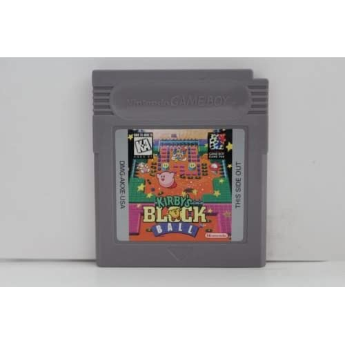 Kirby's Black Ball Game Boy On Gameboy
