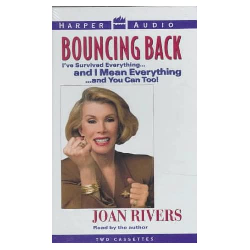 Image 0 of Bouncing Back By Joan Rivers And Joan Rivers Reader On Audio Cassette