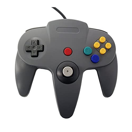 Image 0 of Nintendo N64 Grey Replacement Controller By Mars Devices Gray