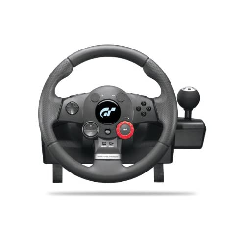 Logitech Driving Force GT Racing Wheel For PlayStation 3 PS3 Black