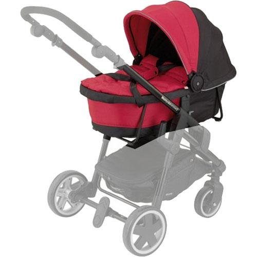 Kiddy Click 'N Move 3 Carrycot Cranberry Red Hard 56-120-CC-055