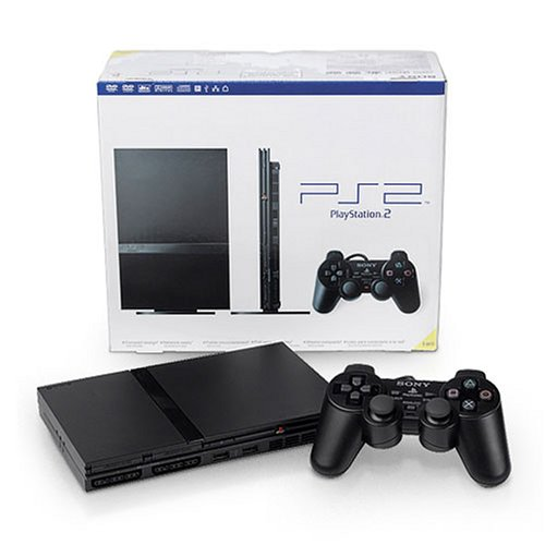 Image 0 of PlayStation 2 Console Slim PS2 Black