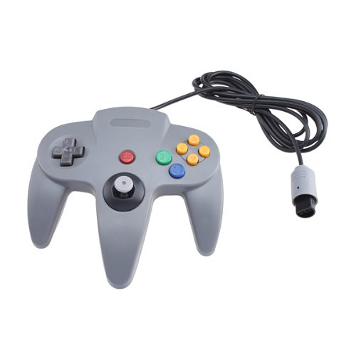 Gamepad Controller Replacement For Nintendo 64 N64 Grey