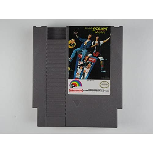 Bill And Ted's Excellent Video Game Adventure For Nintendo NES Vintage
