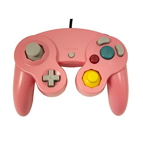 Image 0 of Replacement Controller Pink By Mars Devices Gamepad For GameCube Wii