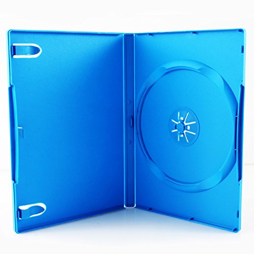 Image 0 of Third Party Wii U Media Package Single DVD Case Baby Blue