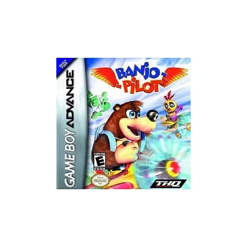 Banjo Pilot Game Boy Advance GBA For GBA Gameboy Advance Action