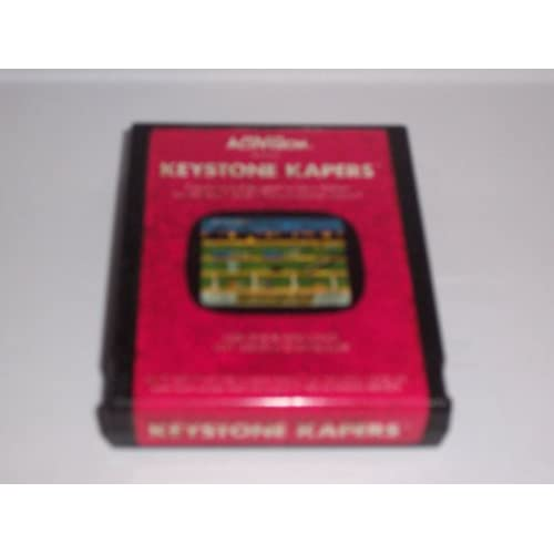 Atari 2600 Game Cartridge Keystone Kapers For Atari Vintage