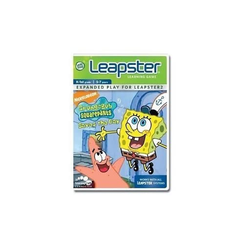 Image 0 of Leapfrog Leapster Learning Game Spongebob Squarepants Saves The Day By Leapfrog