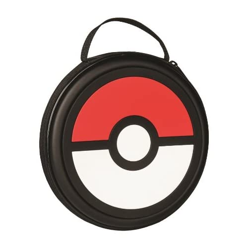 BD&A Pokemon X And Y Pokeball Console And Game Zip Case For 3DS XL / 3DS / DSi X