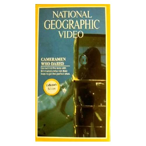 Image 0 of National Geographic Video: Cameramen Who Dared On VHS With Tim Kelly Documentary