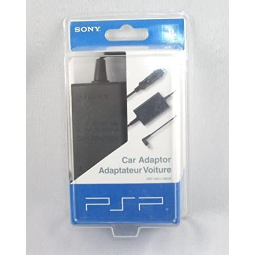 Image 0 of Official Sony 180 Car Charger Cord Plug 10 Feet 12V 24V By For PSP