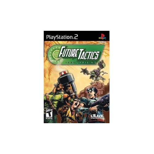 Future Tactics Uprising For PlayStation 2 PS2 RPG With Manual and Case