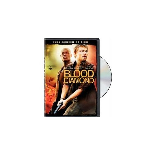 Image 0 of Blood Diamond Full Screen Edition On DVD with Leonardo DiCaprio