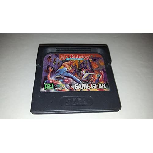 Streets Of Rage For Sega Game Gear Vintage Fighting