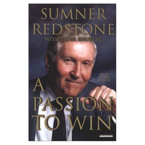 Image 0 of A Passion To Win By Redstone Sumner Knobler Peter Contributor On Audio Cassette