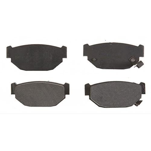 ACDelco 17D314 Professional Organic Rear Disc Brake Pad Set
