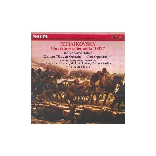1812 Overture / Romeo And Juliet By Tchaikovsky Davis Bso On Audio CD