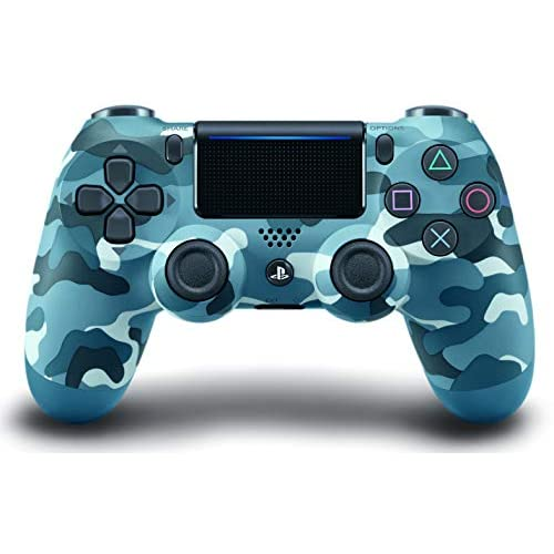 Dualshock 4 Wireless Controller For PlayStation 4 Blue Camouflage For PlayStatio