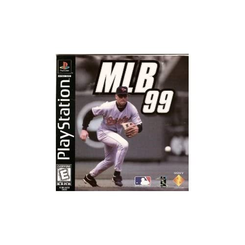 MLB '99 PlayStation 1998 For PlayStation 1 PS1 Baseball