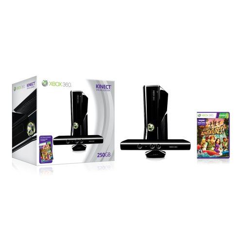 Xbox 360 250gb console with kinect video game systems very good 5z 885370236095 ebay - Xbox 360 console with kinect ...