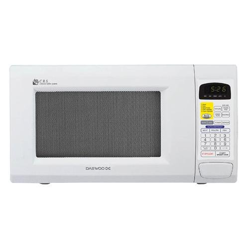 Countertop Oven White : Image 0 of Daewoo KOR130EW 13 CuFt Countertop Microwave Oven White