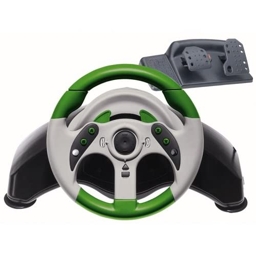 Image 0 of Madcatz MCB4530 Xbox MC2 Microcon Racing Wheel With Pedals For Xbox Original