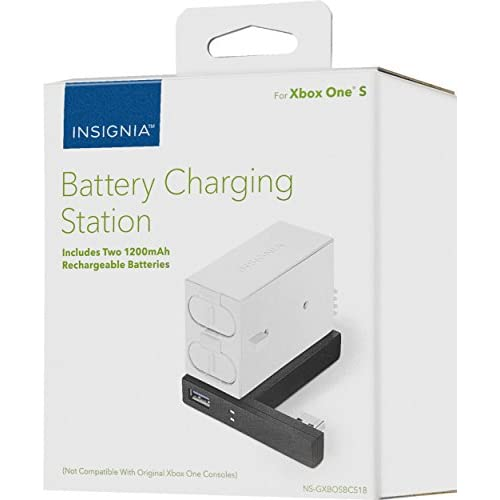 Image 0 of Insignia Battery Charging Station For Xbox One S Controllers Model: NS-GXBOSBCS1