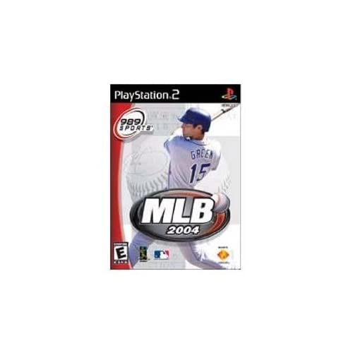 MLB 2004 For PlayStation 2 PS2 Baseball