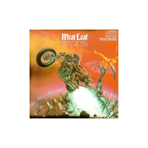 Image 0 of Bat Out Of Hell By Meatloaf On Audio CD Album 1990