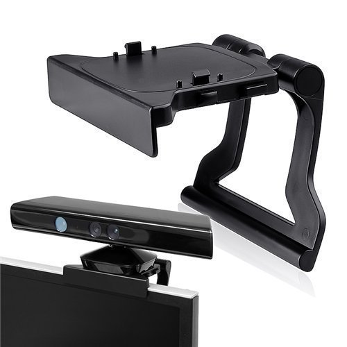 Image 0 of New TV Mount Clip Mounting Stand Holder For Microsoft Kinect Sensor For Xbox 360