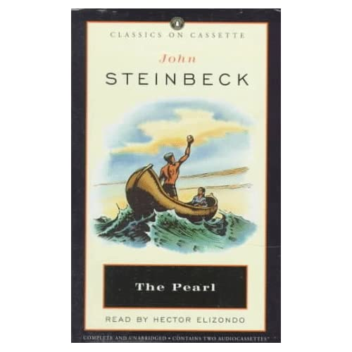 Image 0 of Pearl Classics On Cassette By Steinbeck John Elizondo Hector Reader On Audio Cas