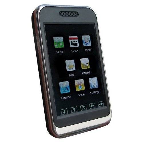 Sylvania 8 GB VIDEO/MP3/MP4 Player With 2.8 Touch Screen And Expandable Memory S