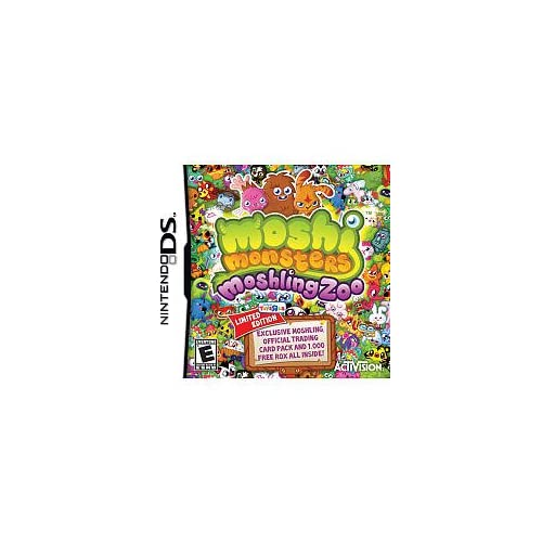 Image 0 of Moshi Monsters Moshing Zoo For Nintendo DS DSi 3DS 2DS
