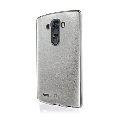 Image 0 of Voia Jell Skin Carrying Case For LG G4 Pearl Silver Cover