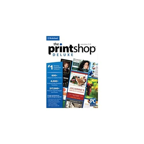 Image 0 of Encore The Print Shop Deluxe 3.5 Traditional Disc Software