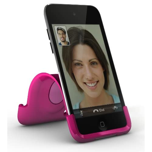 Image 3 of Xtrememac iPod Touch 4G Snap Stand Bubble Gum Pink Fitted
