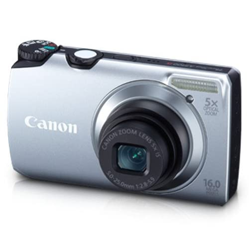 Canon Powershot A3300 Is 16 MP Digital Camera With 5X Optical Zoom Silver